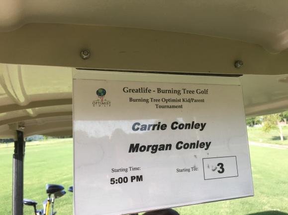 7.17.16 Morgan&Mom BT  Golf Tourney