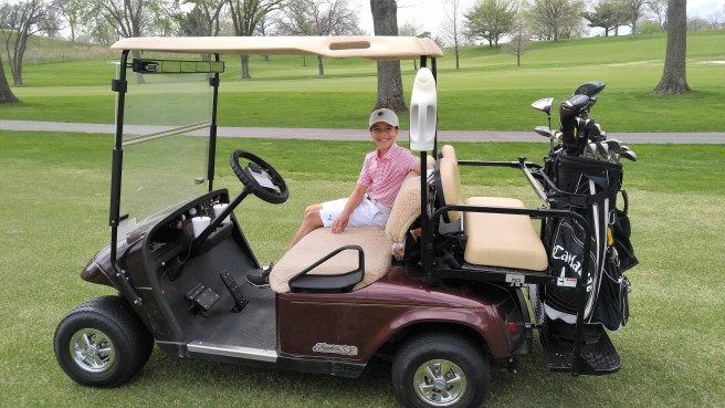 4.14.17 New Golf Cart!_LQ