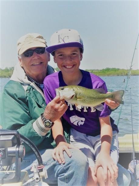 4.25.17 Jake Papa Fishing