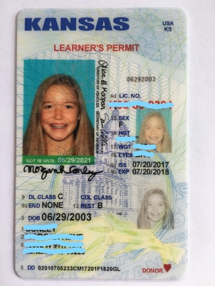 kansas drivers license learners permit