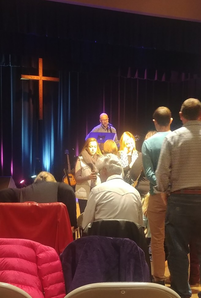 11.11.17 Morgan serving communion (2)