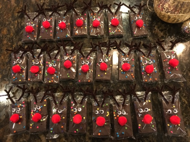 12.10.17 Drew's School treats_Reindeer cosmic brownies (2)