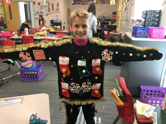 12.18.17 Drew 4GR ugly sweater decorating (4)