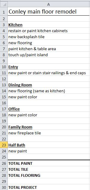 11.17.17 Main Floor Remodel