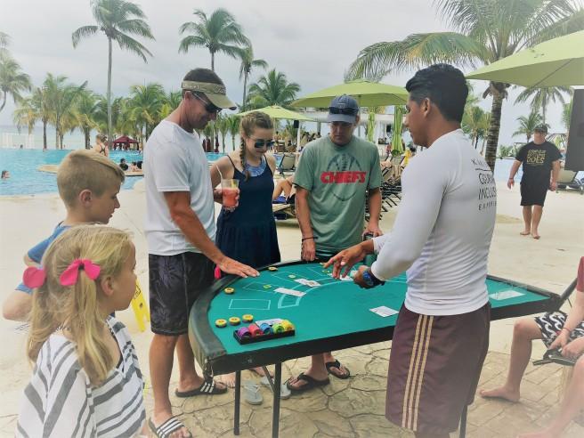 3.13.18 Playa_teaching Morgan Poker