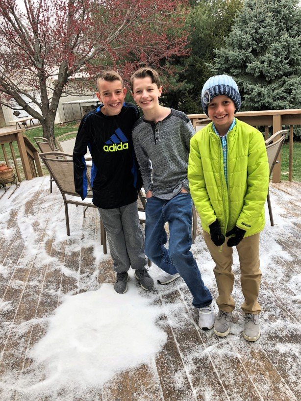 4.1.18 Easter Snow!