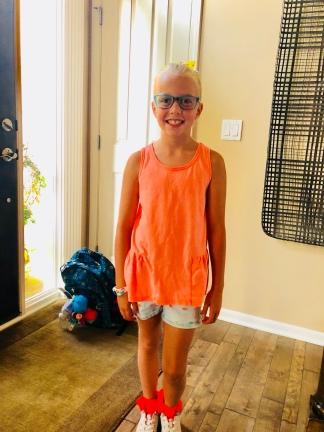 8.22.18 Reece got new glasses!