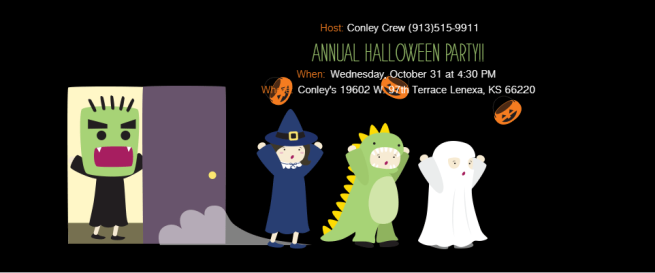 10.31.18 Hwn Party invite